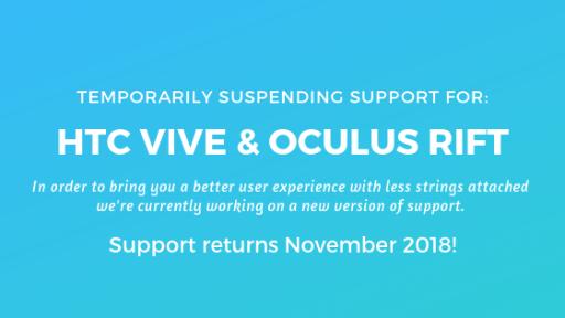 HTC VIVE & Oculus Rift